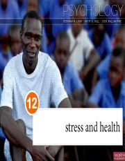 Stress and Health PPT
