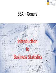 Lecture 1.0 - Introduction to Business Statistics - Copy