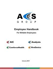 ACS Group Employee Handbook for Billable Employees January  2019.pdf
