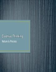 Creative Thinking.ppt