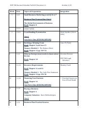 ENT 500 Revised Schedule 1.2 - F 2015 - Poulos