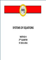 system-of-equations
