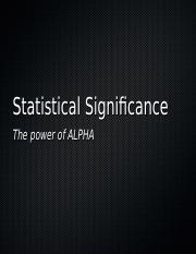 45. INTERPRETING ALPHA (significance level).ppt