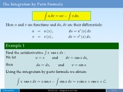 lesson07-Integration-by-parts