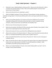Ethics Study Guide Questions Chapter 4