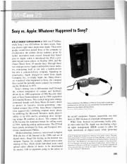 CS-9 Sony vs. Apple - Whatever Happened to Sony.pdf