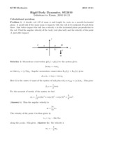 Problems 2 & 3 (Answers)