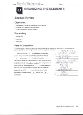 6.1 and 6.2 Section Review