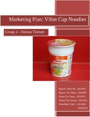VIFON CUP NOODLES - GROUP 2 - KIERAN