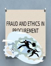 FRAUD AND ETHICS IN PROCUREMENT2.pptx