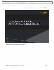 Aruba Mobility Boot Camp Student Guide 6