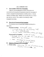 Ch. 1 Notes