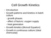 lecture notes-growth kinetics--growth phases-web