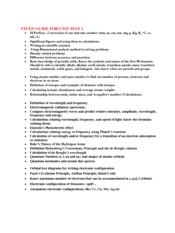CHM 151 - Summer - Study Guide.pdf