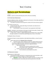 Business Law (Test 2 Outline).docx
