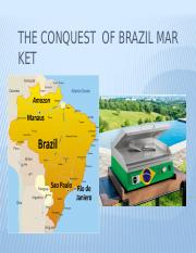 The conquest  of Brazil market.pptx