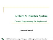 Lecture3-Number System