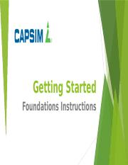 Getting Started on Capsim Foundations.pptx