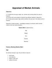 ANSC_3033_Appraisal_of_Market_Animals
