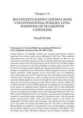 Erturk 2014 Reconceptualising Central Bank Unconventional Policies