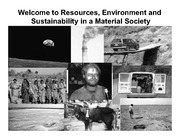 Lecture 1 Intro to Sustainability