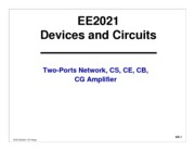 EE2021-Week 8 & 9-Amplifier1