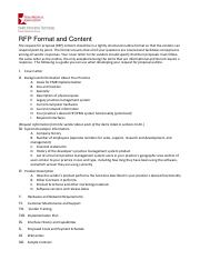 how to do an RFP for an EHR