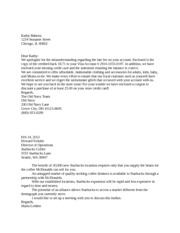 Examples of a Complaint Letter and a Cover Letter - Brad S. O'Halloran ...
