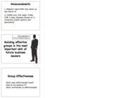 16 group effectiveness Handout.key