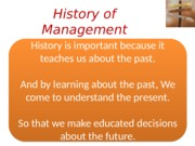 History of Management -Ch02