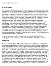 Urban Education Research Paper Starter - eNotes.pdf