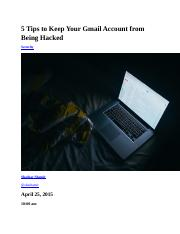 5 Tips to Keep Your Gmail Account from Being Hacked.docx
