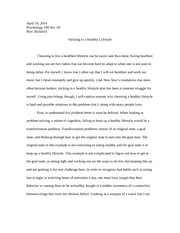 psych 100 paper example