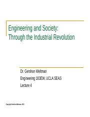 04 - Through the Industrial Revolution