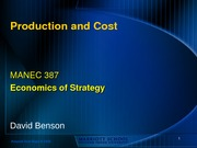 7 & 8 - Production and cost - Benson (1)