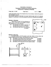 Engr 244 test 2 with solutions