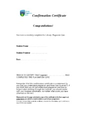 certificate for successful completion of plagiarism quiz.doc