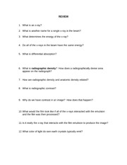 RADD 2501 1st Lecture - Review Questions