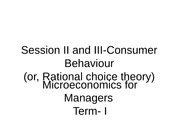 Presentation consumer behaviour