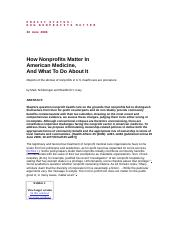 how-nonprofits-matter-in-american-medicine-what-to-do-about-itha0606 (1).doc