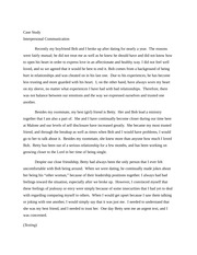 Case Study Creation - Essay