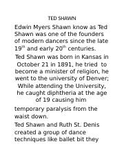 TED SHAWN.docx