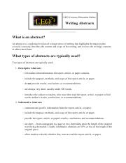 LEO Writing Abstracts.pdf