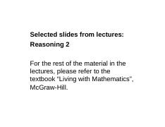 Selected slides-Reasoning2.pdf