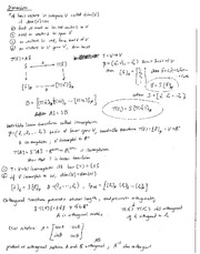 Math 294 Midterm Cheat Sheet