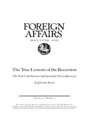 The True Lessons of Recession.pdf