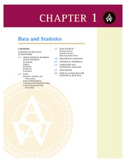 Statistics for Business and Economics 11e Chapter 1