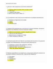 Enfermeria 2019 Pdf Listado De Preguntas Y Respuestas Correctas Examen Enfermeria Atencion Las Respuestas Correctas Estan En Rojo 1 U00bfc U00f3mo Se Define Course Hero