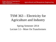 TSM 363 – Electricity for Agriculture and Industry 3.1 -- Notes.pptx