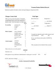 Trauma-Worksheet